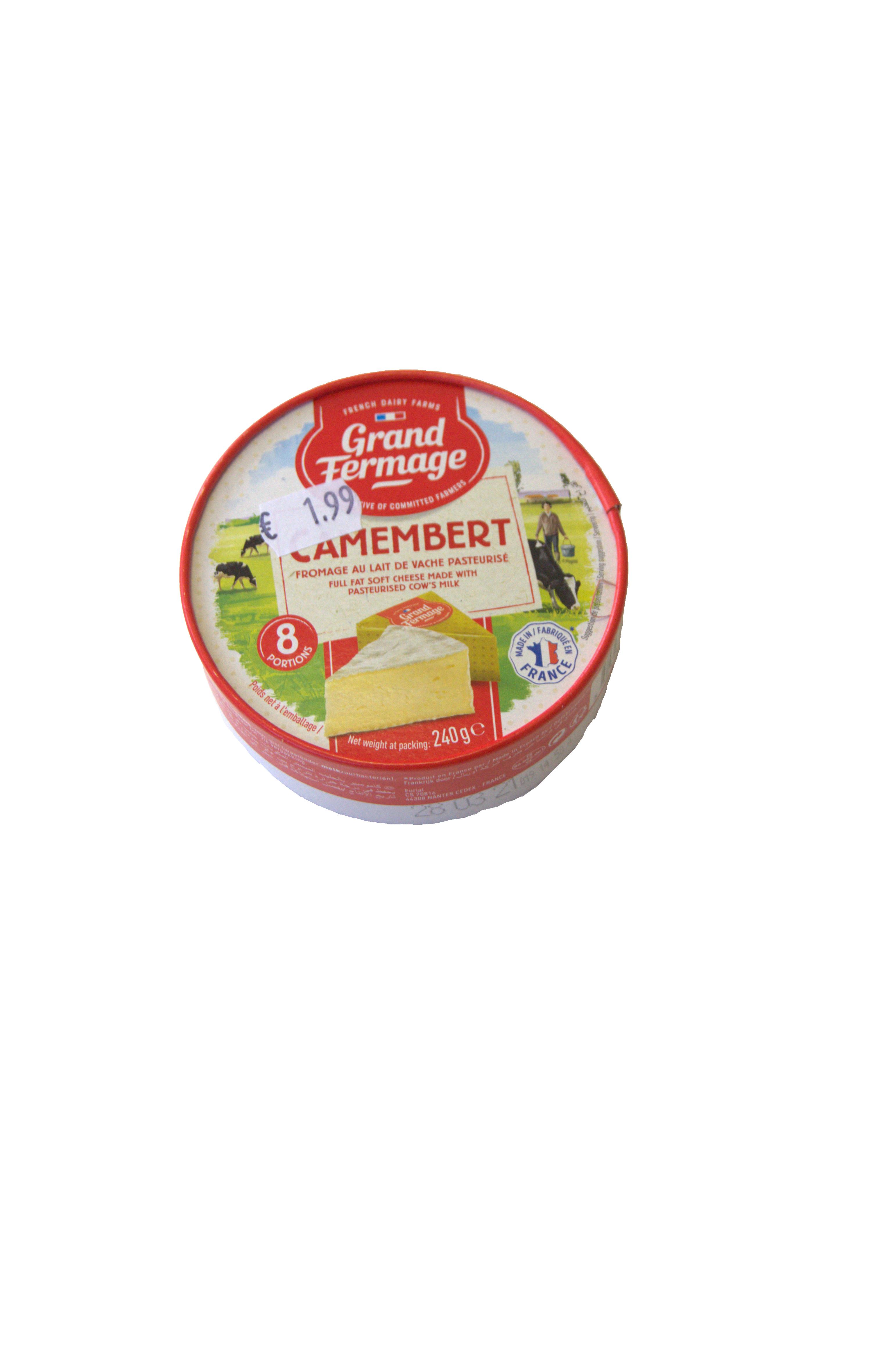 camembert 8x30g