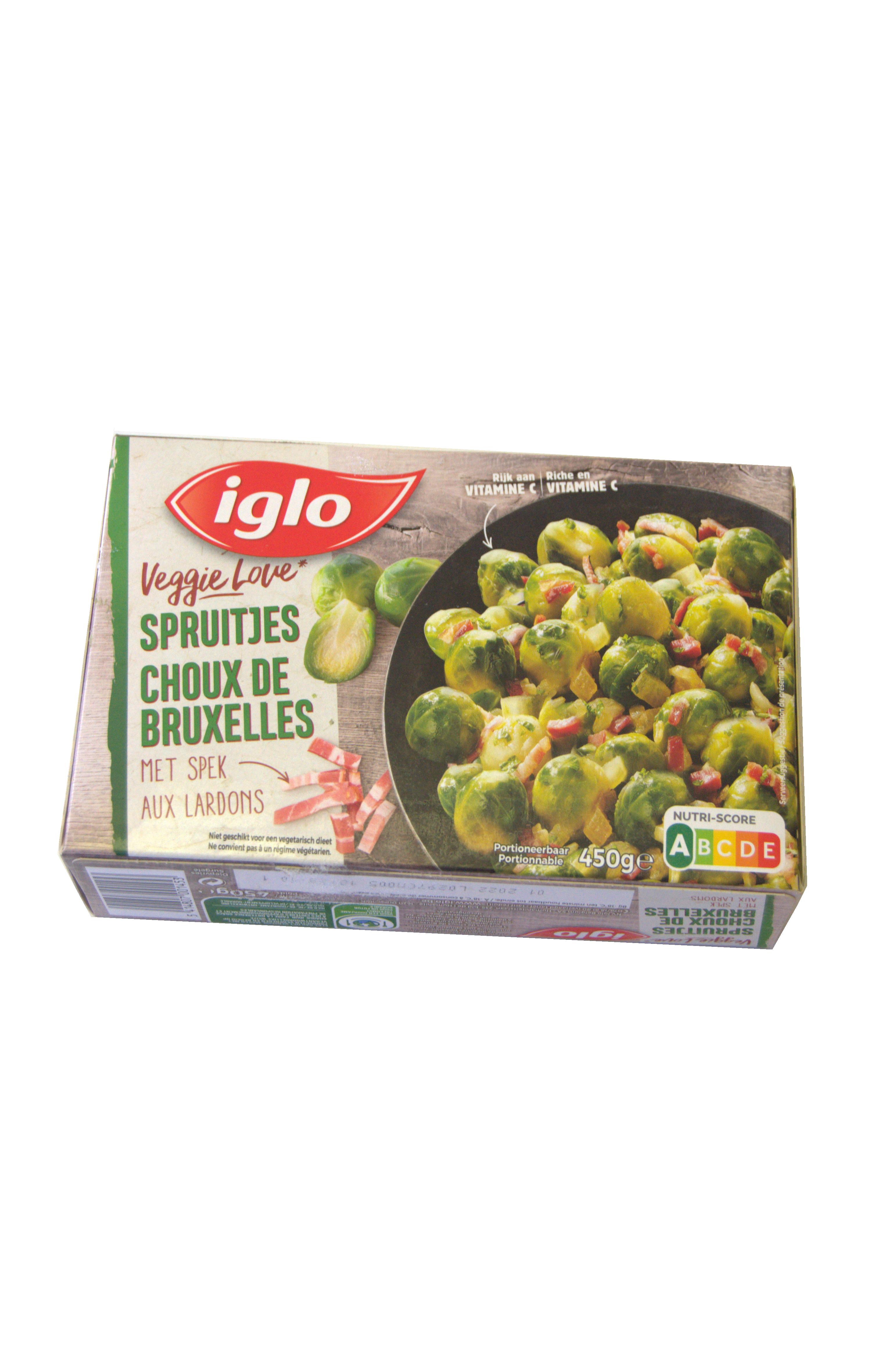 spruitjes met spek 450g