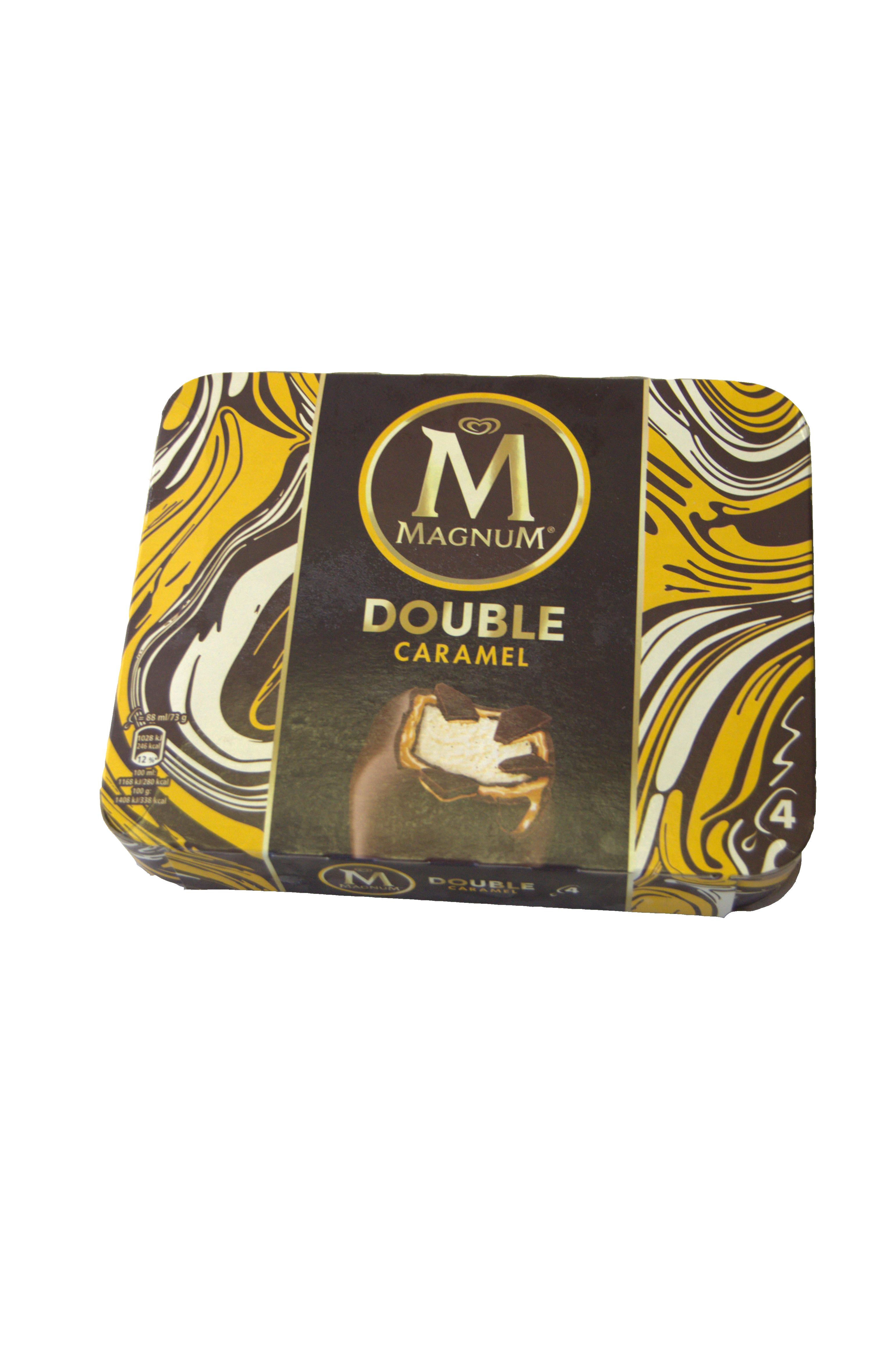 magnum dubbel caramel 4 st