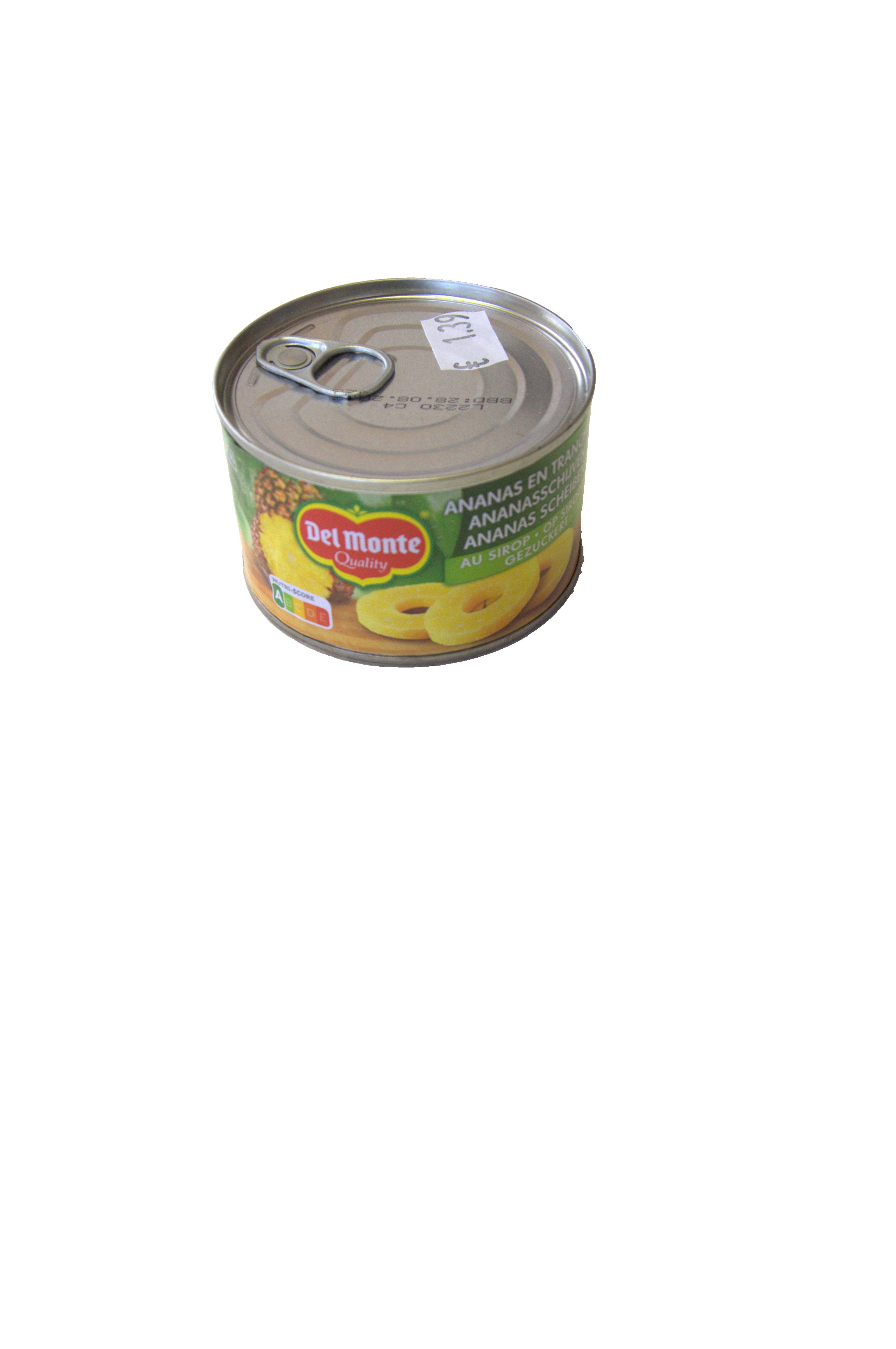 ananas schijf op siroop delmonte 235g
