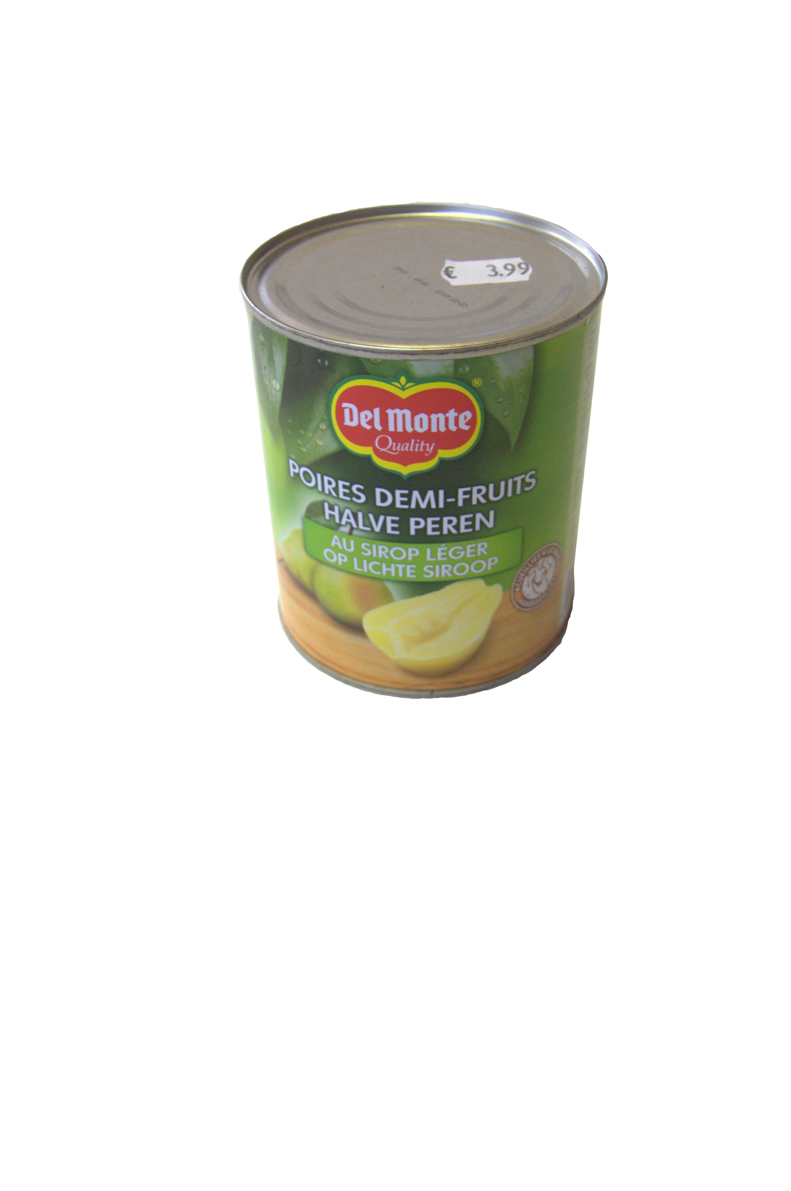 halve peren op siroop delmonte 825g