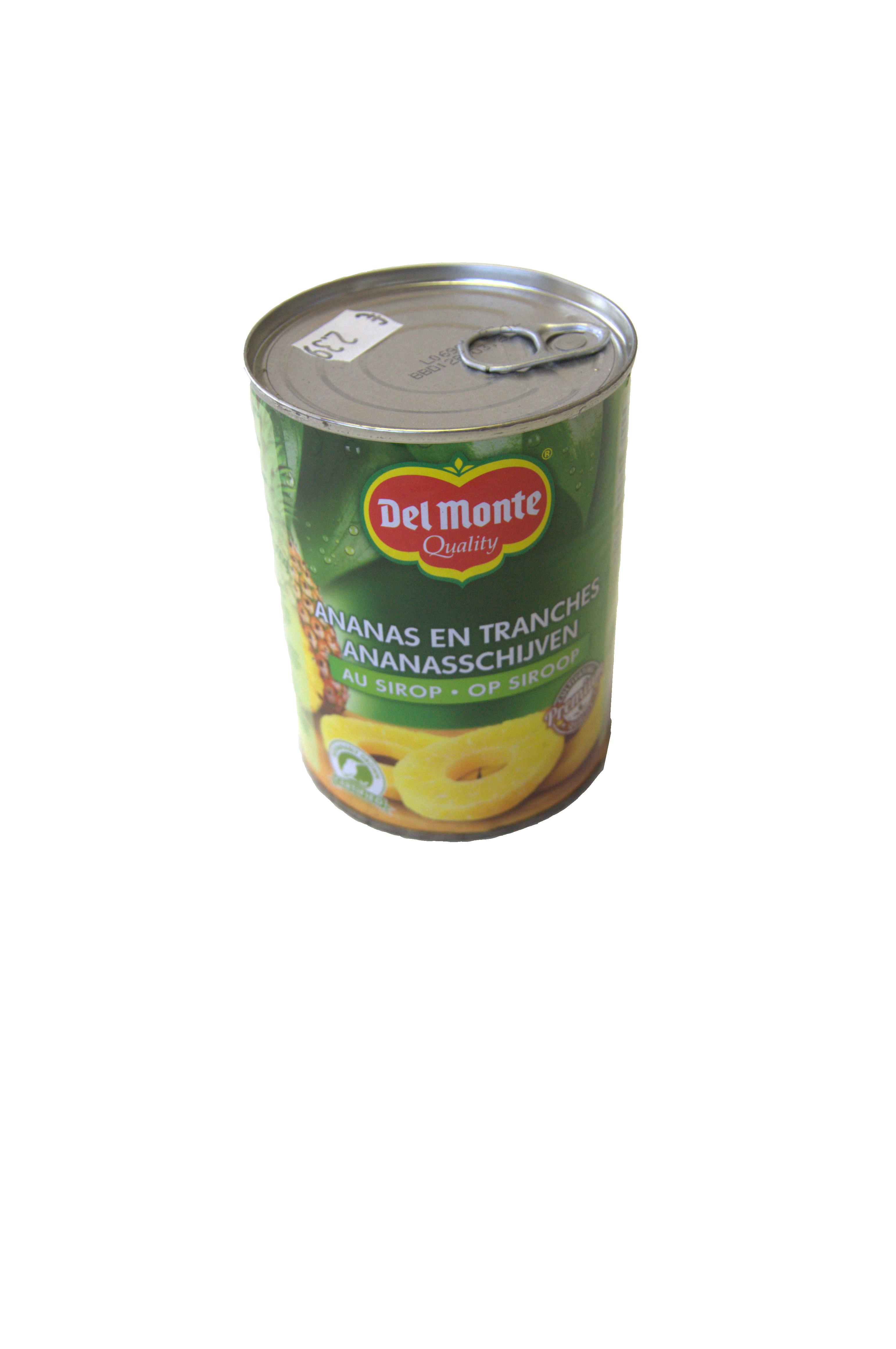ananas schijf op siroop delmonte 570g