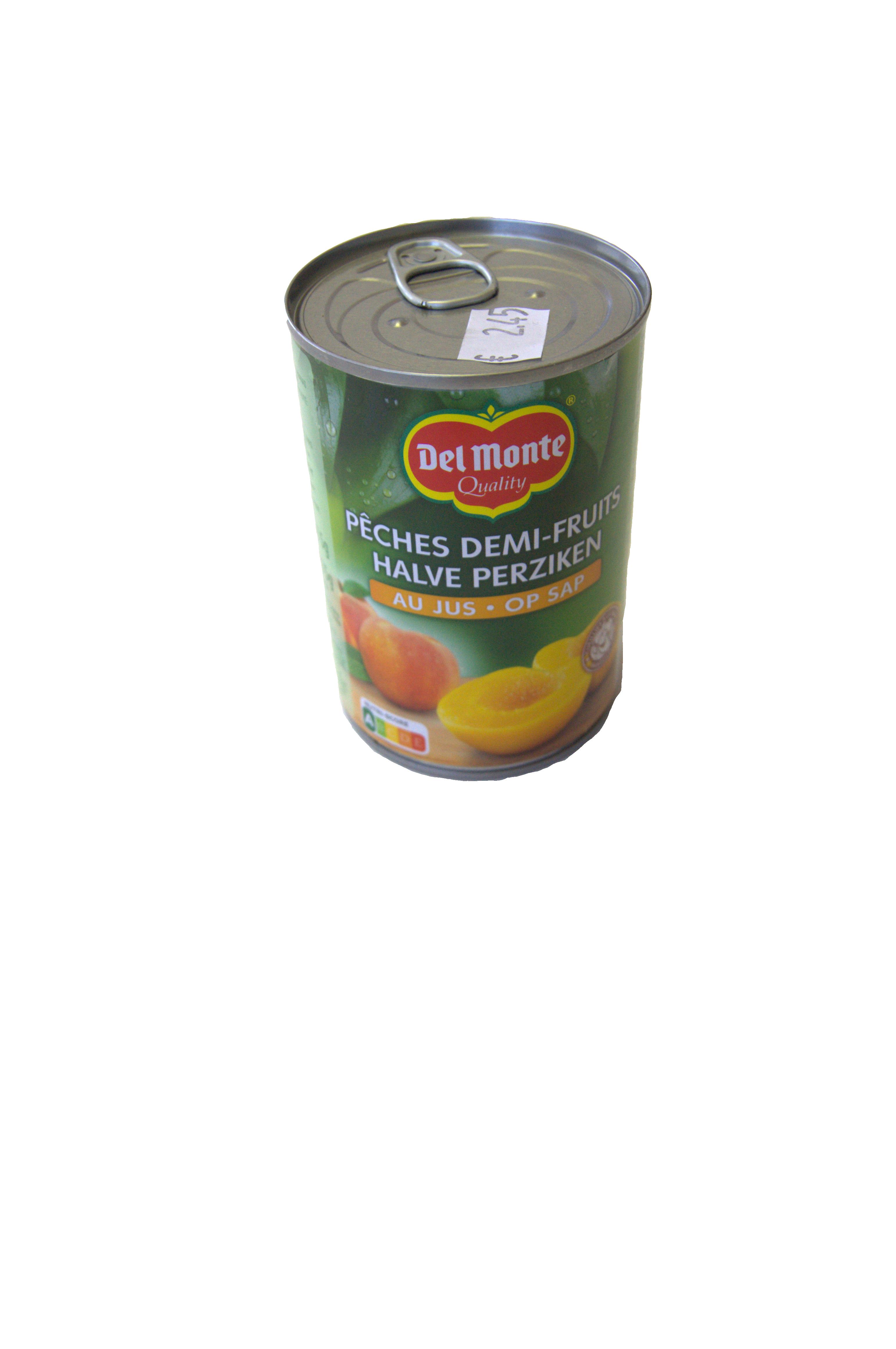 halve perzikken op siroop delmonte 420g