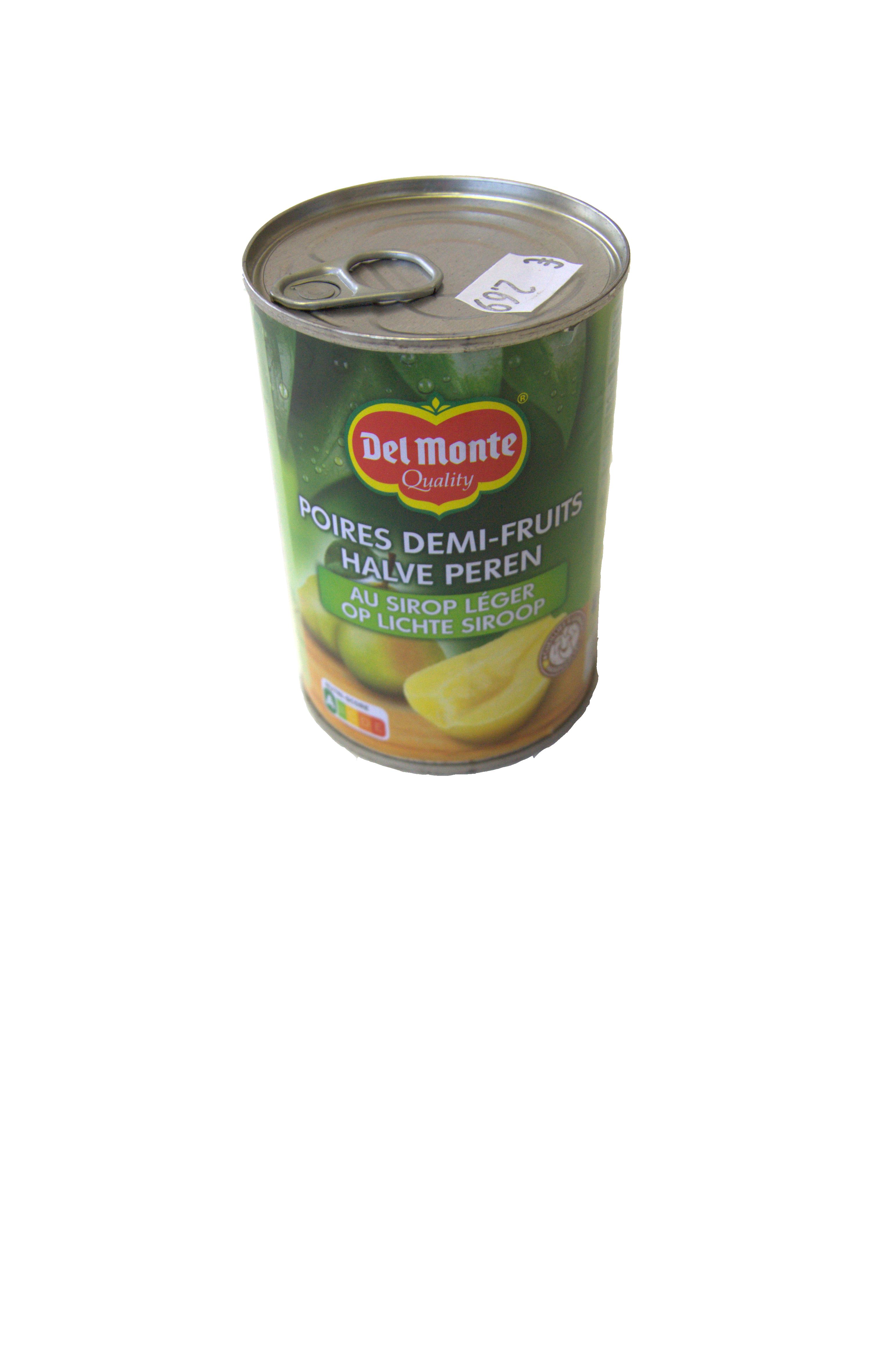 halve peren op siroop delmonte 420g