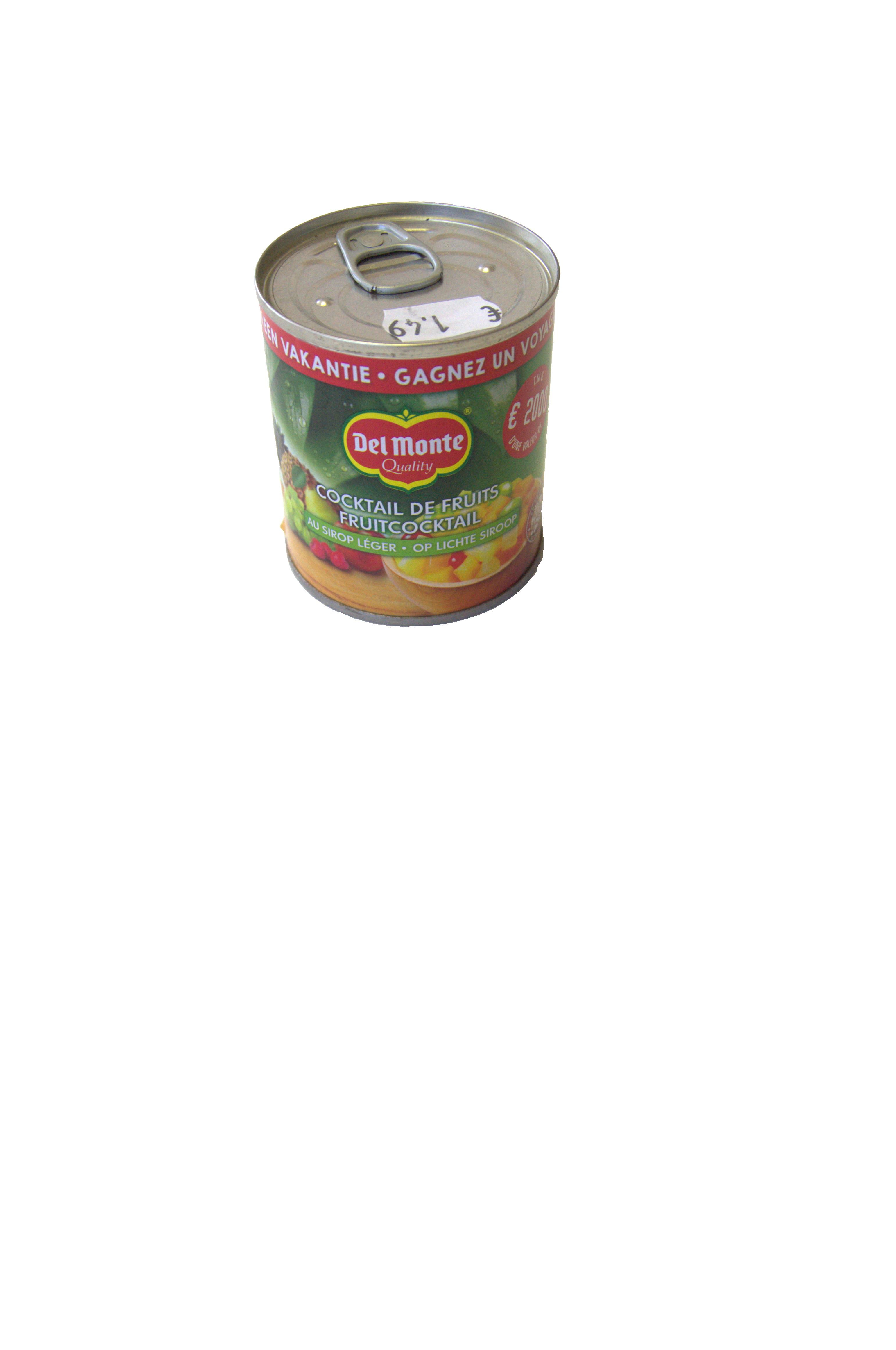 fruitcocktail op siroop delmonte 227g