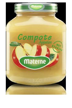 appelmoes met stukken Materne 375g