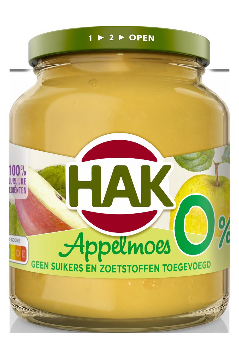 appelmoes gezeefd Hak 710 g