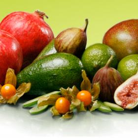 Zacht fruit & exoten